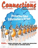 October 2012 issue of Connections Magazine