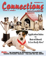September 2013 issue of Connections Magazine